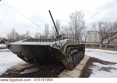Russia, Engels - March,2021: Infantry Fighting Vehicle Bmp-1