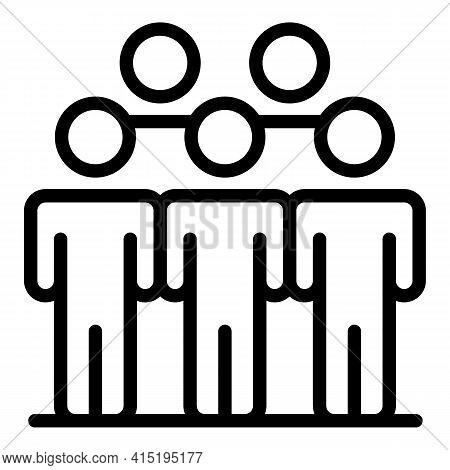 Partnership Crew Icon. Outline Partnership Crew Vector Icon For Web Design Isolated On White Backgro