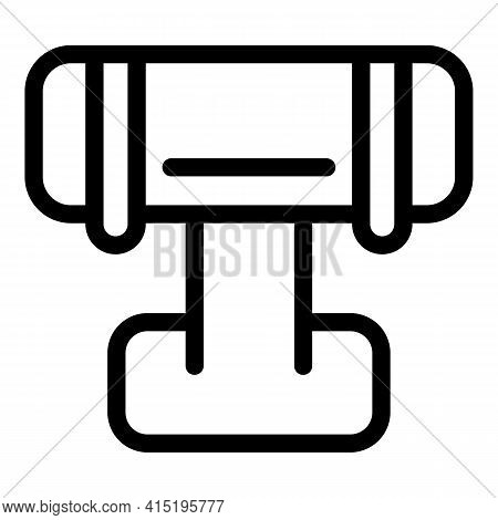 Jewelry Dummy Bracelet Icon. Outline Jewelry Dummy Bracelet Vector Icon For Web Design Isolated On W