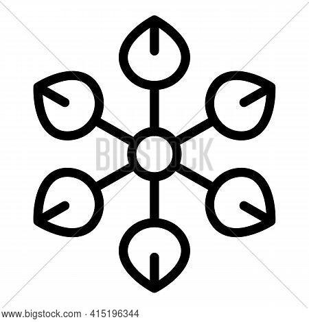 Spiritual Power Icon. Outline Spiritual Power Vector Icon For Web Design Isolated On White Backgroun