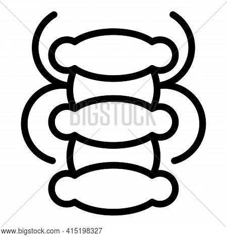 Arthritis Joint Icon. Outline Arthritis Joint Vector Icon For Web Design Isolated On White Backgroun
