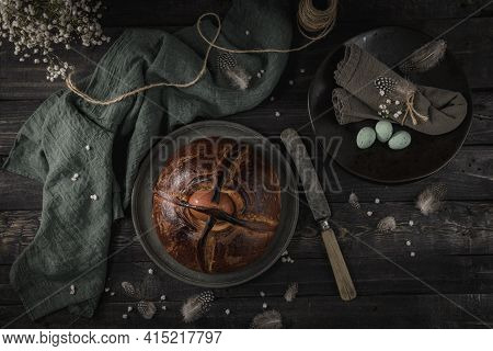 Easter Folar With Egg