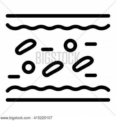 Immunity Protection Icon. Outline Immunity Protection Vector Icon For Web Design Isolated On White B
