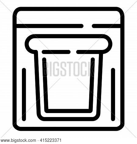 School Break Meal Icon. Outline School Break Meal Vector Icon For Web Design Isolated On White Backg