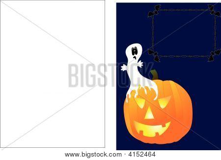 Phantom On Pumpkin