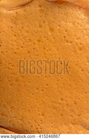 Portuguese Sponge Cake Or Pao De Lo Texture.