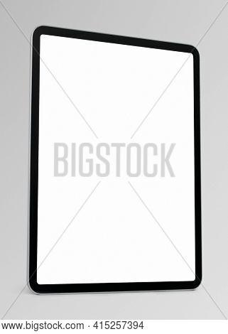 Digital tablet screen mockup smart tech