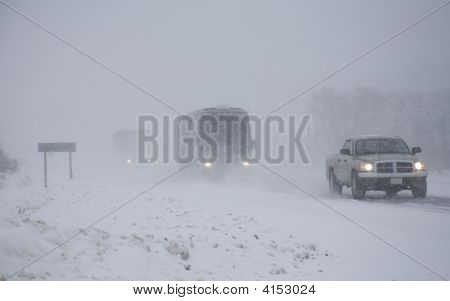 Winter Storm Driving