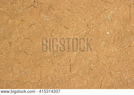Texture Of Clay Wall From Clay House, Clay Background