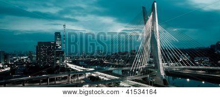 Octavio Frias De Oliveira Bridge, Brazil