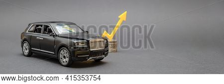Lithuania - Kaunas 02.2021. Rising Cost Of New And Used Cars, Rising Car Sales, Rising Costs Of Insu