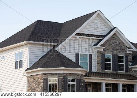 House Facade Decoration Wall Style Desing Window Door Roof Art