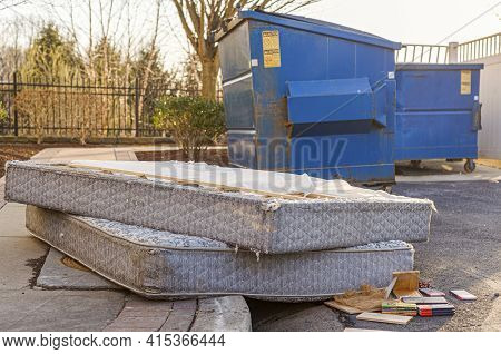 Despite Regulations By The Home Owners Association, Residents Still Illegally Dump Bulk Items By The