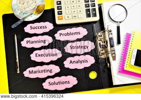 Business Plan. Long-term Vision, Work On Projects, Ideas, Development Of A Method For Achieving The