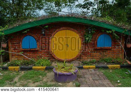 Kuala Selangor,malaysia: April 2nd 2021- The Hobbit House Located In Kuala Selangor,malaysia. Select
