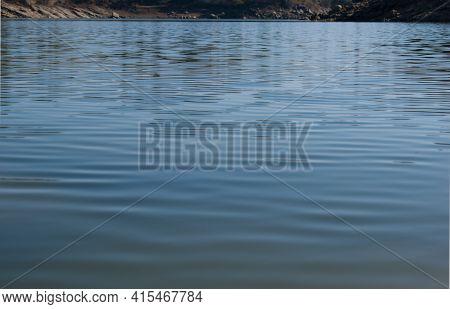 Picture Of Water In Beautiful Lake In Himachal Pradesh, India