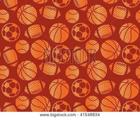 boy sports seamless background