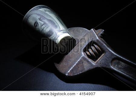 Spanner With Money