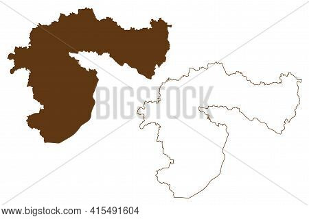 Passau District (federal Republic Of Germany, Rural District Lower Bavaria, Free State Of Bavaria) M