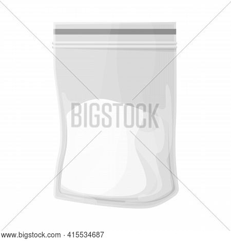 Vector Illustration Of Cocaine And Package Icon. Graphic Of Cocaine And Powder Stock Vector Illustra