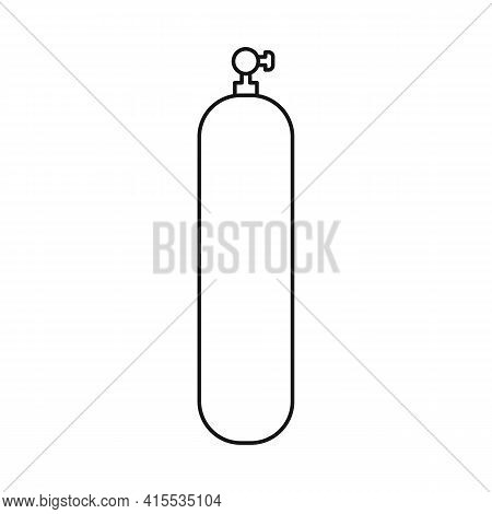 Vector Illustration Of Extinguisher And Security Icon. Collection Of Extinguisher And Safety Vector