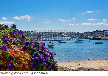 Camaret-sur-mer, France - July 13, 2019: Small Harbor Of Camaret-sur-mer In Brittany, France.
