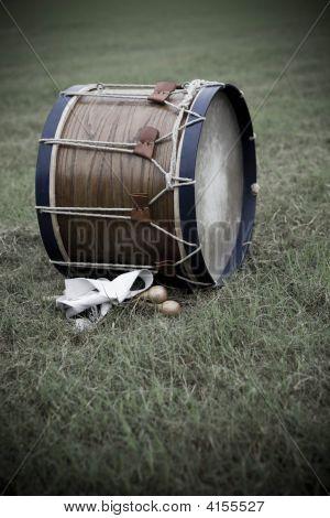 Revolutionary War Drum Closeup