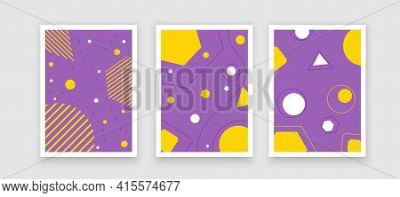 Banners Bundle Kit Set Of Social Media Story. Geometric Stories Sale Banner Background , Poster, Fly
