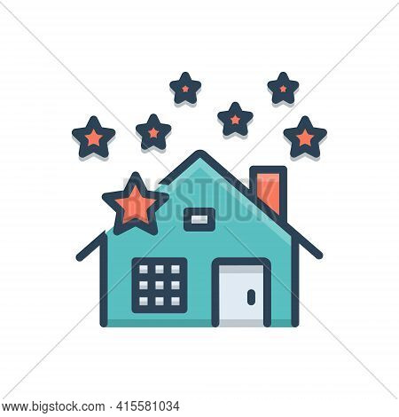 Color Illustration Icon For Home-deep-cleaning  Home Deep Cleaning Shine New-home