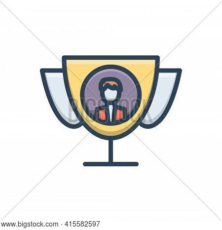 Color Illustration Icon For Best-proposal Best Motion Proposal