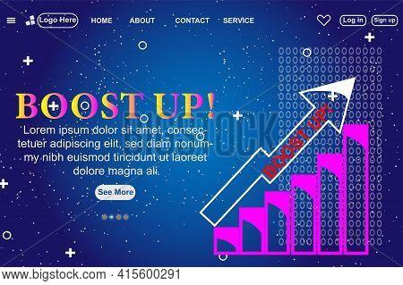 Isometric Business Start Up For Web Page, Banner, Presentation, Social Media Concept Landing Page De