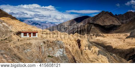 Landscape of Himalayas mountains in Ladakh