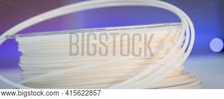 Spools of plastic flexible filaments for 3D Printer