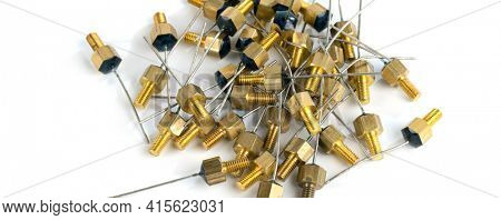 different radio electronic components ic