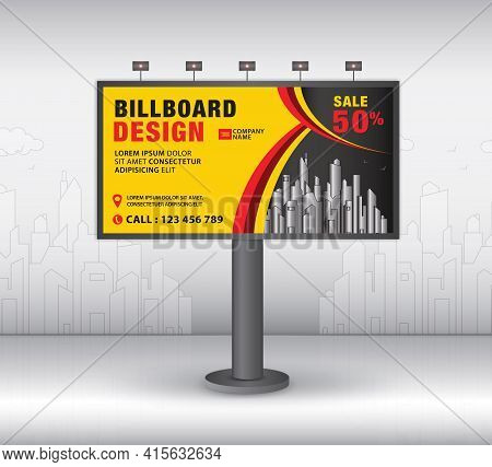 Billboard Template Design2021-no13