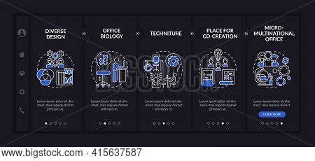 Occupational Trends Onboarding Vector Template. Responsive Mobile Website With Icons. Web Page Walkt