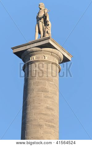 Nelson's Column in Old Montreal, Quebec, Canada