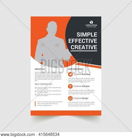 Corporate Business Flyer, Flyer Design Template, Corporate Flyer