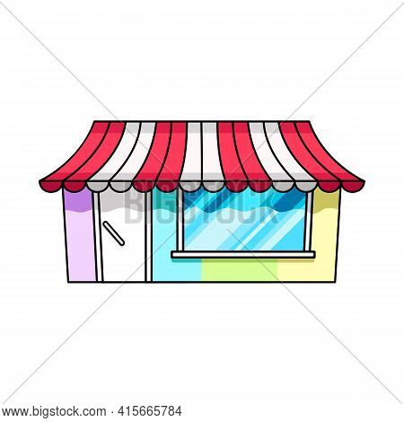 Isolated Object Of Bookstore And Shop Icon. Set Of Bookstore And Mini Stock Vector Illustration.