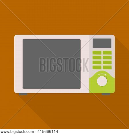 Isolated Object Of Microwave And Oven Logo. Graphic Of Microwave And Stove Stock Vector Illustration