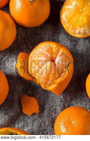 Raw Orange Organic Clementine Fruit
