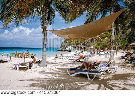 Curacao Caribbean Island March 2021, Kokomo Beach Views Around The Caribbean Island Of Curacao On A
