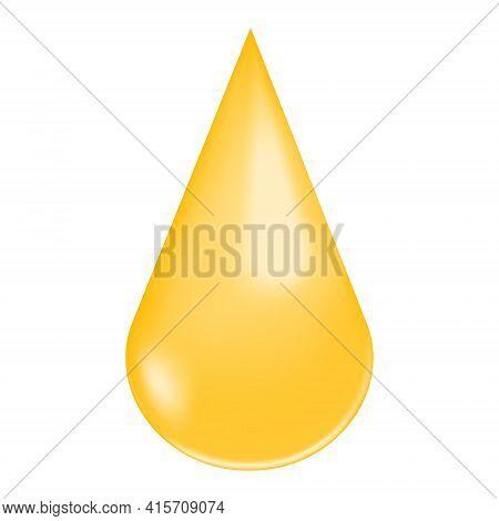 Golden Shiny Droplet. Collagen Drop, Vitamin A Or E, Keratin, Serum, Jojoba Cosmetic Oil, Omega Fatt