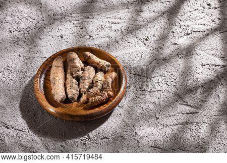 Turmeric Is A Very Healthy Spice - Curcuma Longa