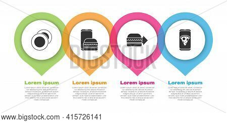 Set Plate, Online Ordering And Delivery, Online Ordering Burger Delivery And Food Ordering Pizza. Bu