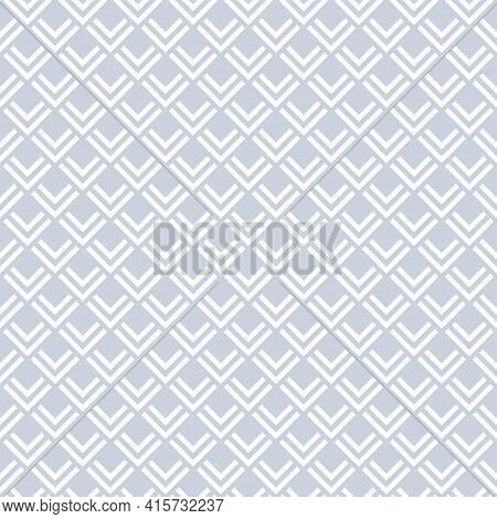 Abstract Seamless Geometric Checked Pattern Texture. Vector Art.
