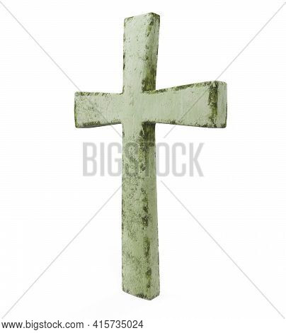 3d Render Classic Shape Simple Cross Belief, Cross, 3d, Render, White, Cruz, Ruby, Christianity