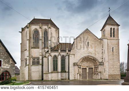 Parish Prior Church Saint-thibault In Saint-thibault, France