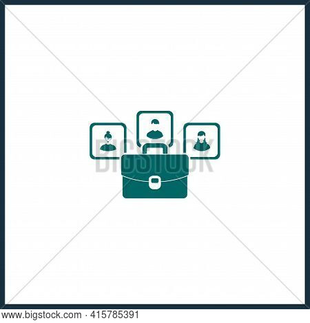 Limited Liability Simple Vector Icon. Limited Liability Isolated Vector Icon.
