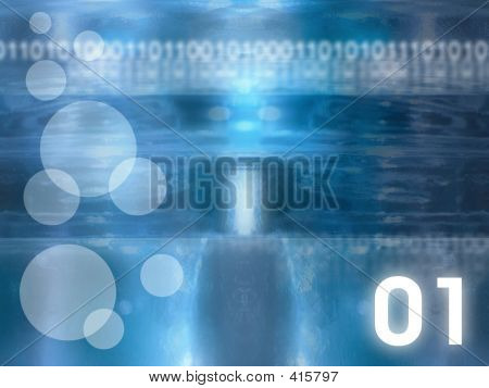 Abstract Glass Background - Blue #2